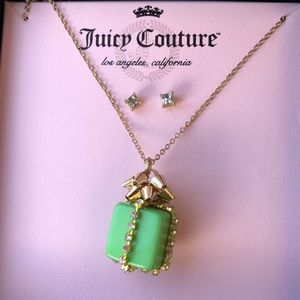 BNIB Juicy Couture Gift Necklace w/ Earrings!